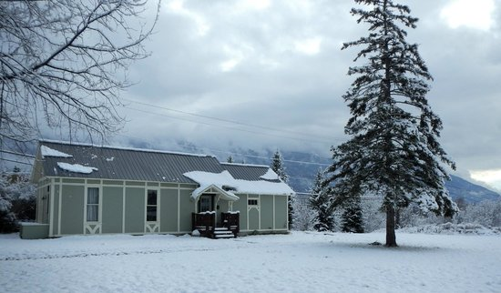 Winter beginings at the River Rock Hostel