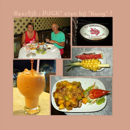 """Kung Restaurant : Diner by """"KUNG Reatauant"""" . Very good !"""