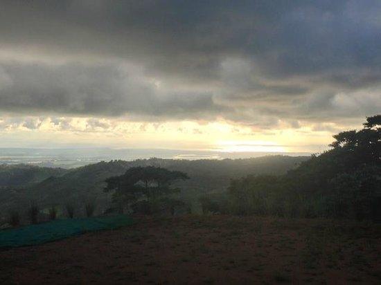 Osa Mountain Adventures : Sunset from Osa Mountain Village