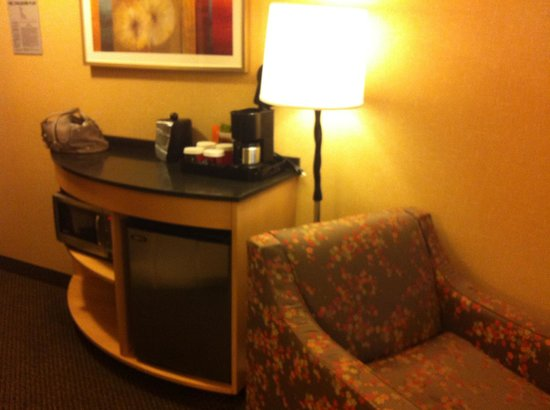 Cambria Hotel & Suites Rapid City: Mini fridge and microwave