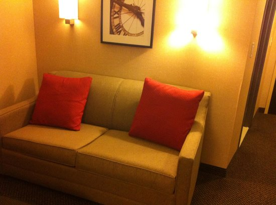 Cambria Hotel & Suites Rapid City: Sofa in the living room