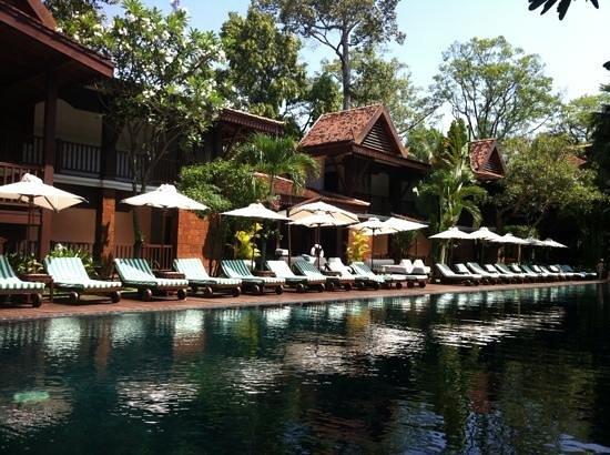 Belmond La Résidence d'Angkor: la piscine de La Résidence d'Angkor