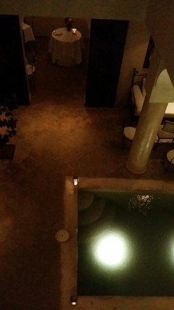 La Table Al Badia : From the second floor. Lovley view