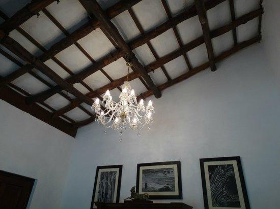 Samode Safari Lodge: ceiling