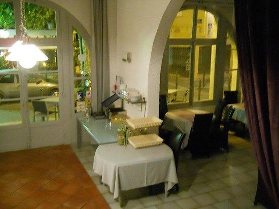 Hotel les Palmiers: ingresso