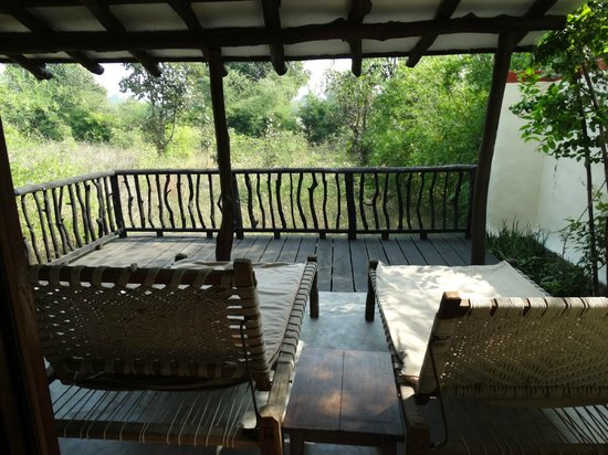 Samode Safari Lodge: open sit out