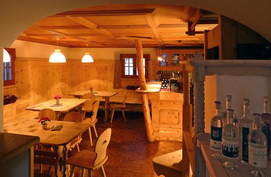 Hotel Crusch Alva: Restaurant Cruschetta