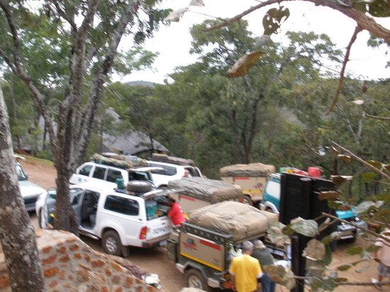 Bushbaby Lodge: Transit visitors