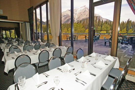 Inns Of Banff: Conference room with a view