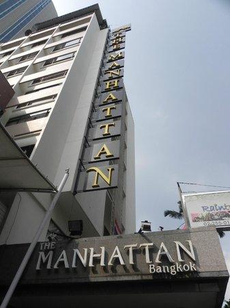 The Manhattan Sukhumvit Bangkok: hotel view