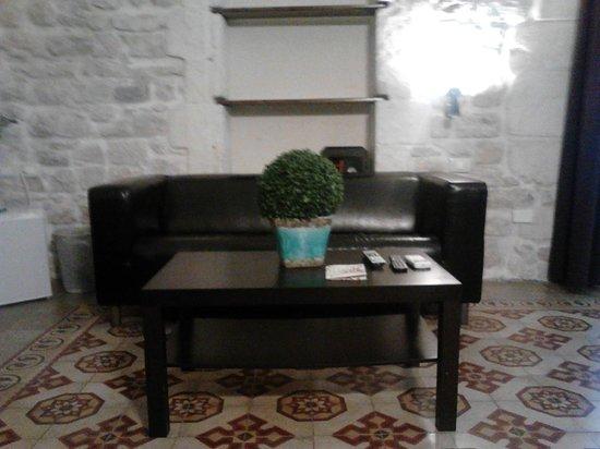 Palazzo Beau: divanetto in camera