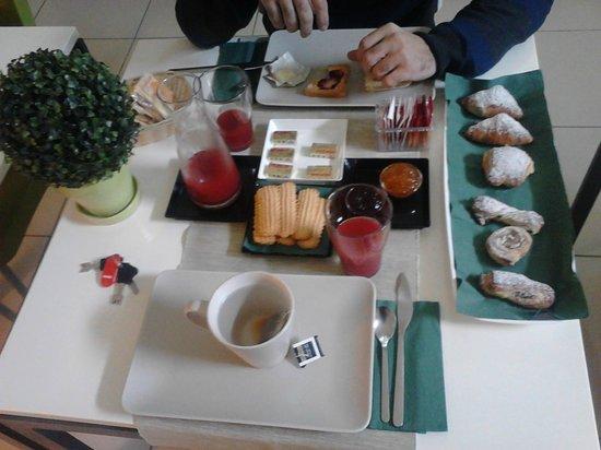 Palazzo Beau: colazione