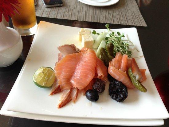InterContinental Hanoi Westlake : Smoked salmon