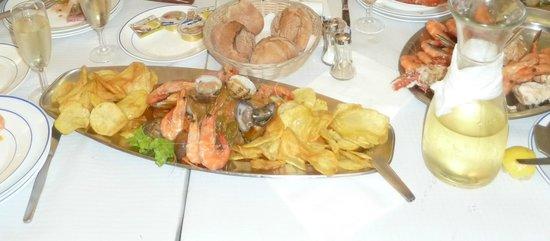 Restaurante Farol : Морепродукты