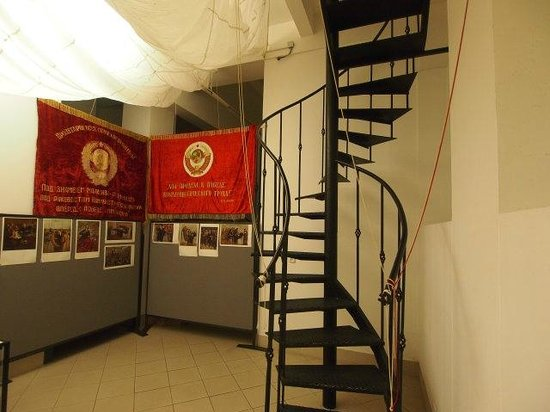 KGB Museum: Spiral Staircase Leading To The Tiny Basement