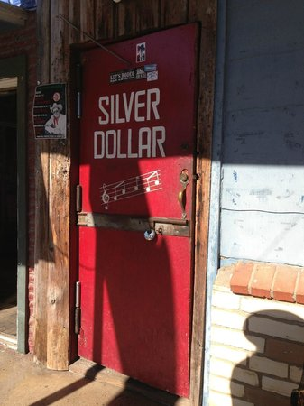 Arkey Blue's Silver Dollar Bar: main street entrance