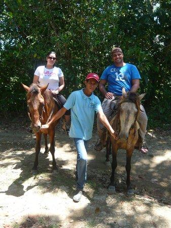 Los Bueyes, República Dominicana: Cabalgata