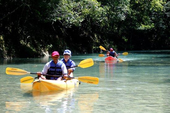 Los Bueyes, República Dominicana: Kayak en el Rio Jamao