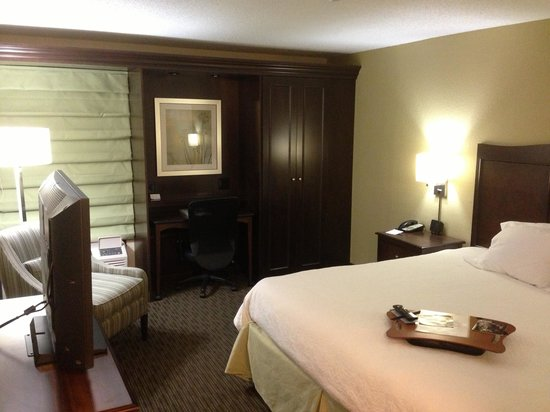 Hampton Inn Knoxville Airport: The Room