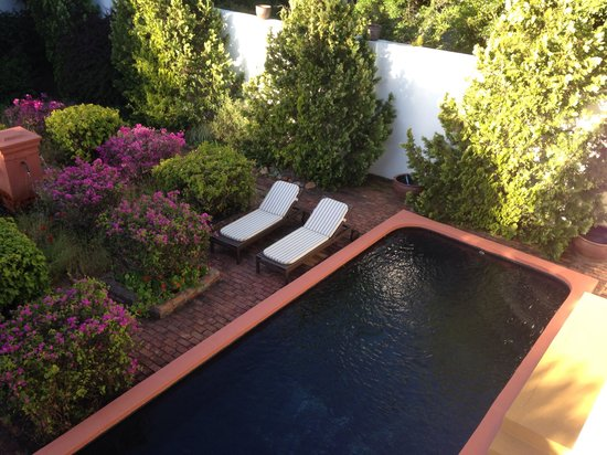 Akademie Street Boutique Hotel and Guest House: Our private swimming pool!!