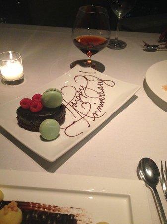 Asiate : Anniversary Dessert