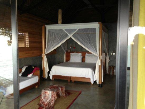 L'Heure Bleue: nouveau bungalow