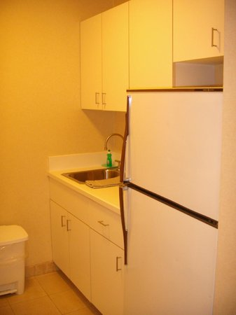 Dumont NYC–an Affinia hotel: Room has a small kitchen