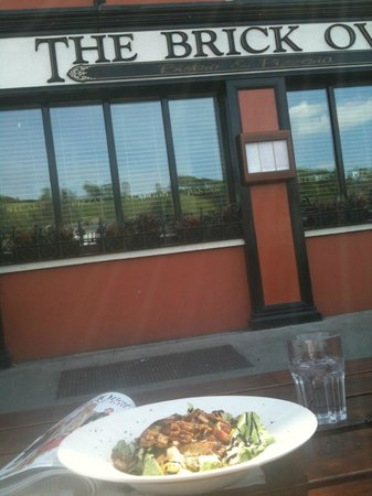 The Brick Oven: outside on a sunny day