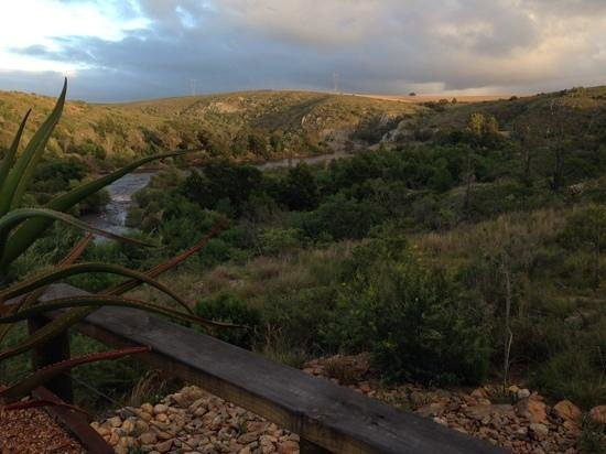 Aloe Ridge Self Catering : Early morning up the river