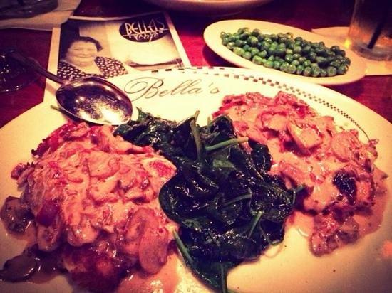 Bella's Italian Cafe: Nate's Chicken