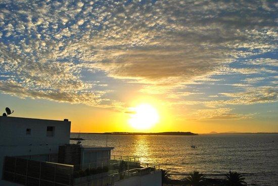 Hotel Castilla: Puesta de Sol desde Suite Executiva