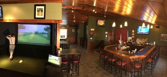 Lowville, NY: Golf Simulator and Bar
