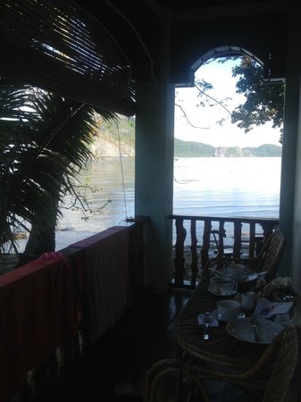 Angel Nido Resort: View