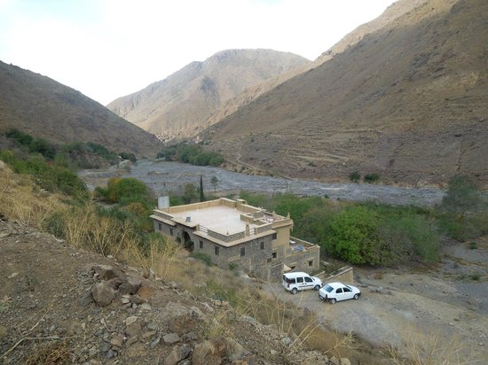 Les Terrasses de Toubkal Lodge : vallée d'imlil