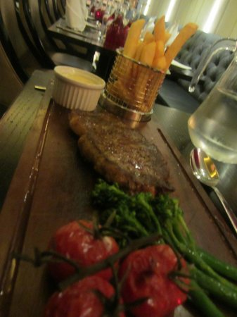 The Greenwich Hotel London: Delicious steak