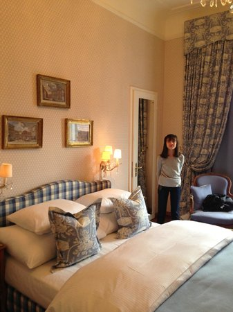Romantik Hotel Europe : Our cozy room!