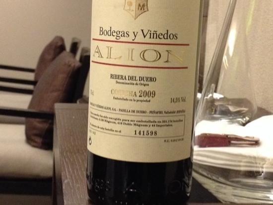 Restaurante Lasarte: tres bon vin
