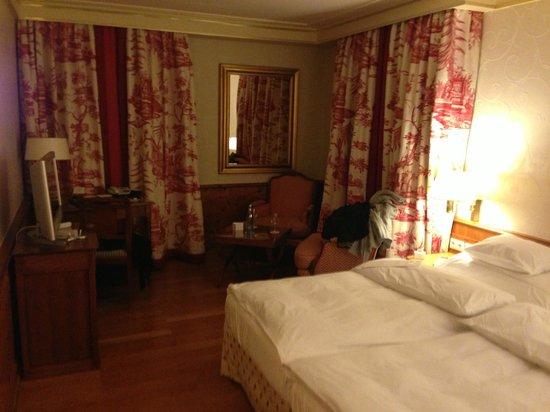 Hotel Colombi : Zimmer nach dem Abendservice