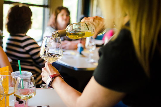 Cedar Park, TX: Sample local wines aboard the Austin Steam Train Wine Flyer