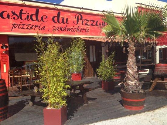 La Bastide du Pizzaiolo: terrasse