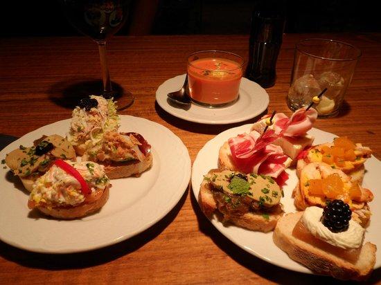 Exe Ramblas Boqueria : Boa comida: restaurante Sensi, no Bairro Gótico