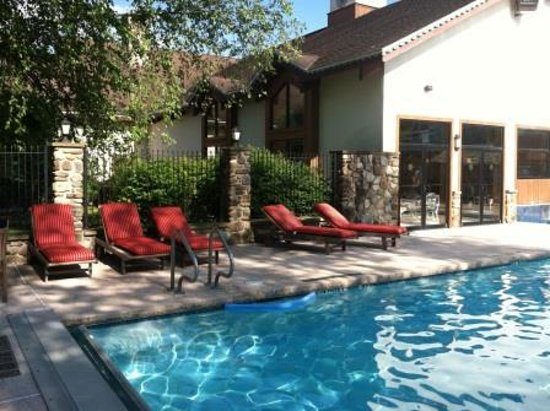 Inn at Holiday Valley: Relax by our heated indoor-outdoor pool