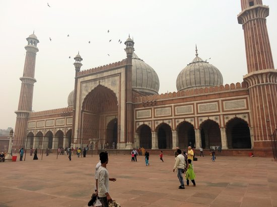 Jama Masjid Mosque: India's most well known and important mosque