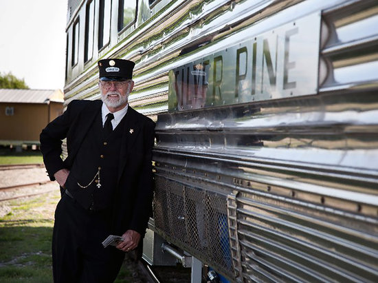 Cedar Park, TX: Austin Steam Train Association's Ben Sargent