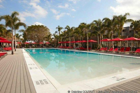 Club Med Sandpiper Bay: Main pool (UNHEATED) !!!