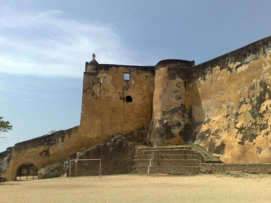 The Royal Palace hotel: FORT JESUS