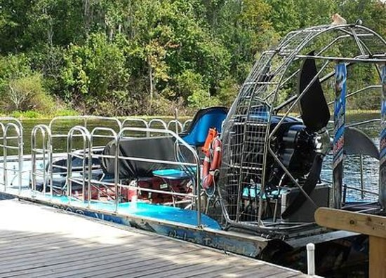 Tom and Jerry's Airboat Rides: All on board