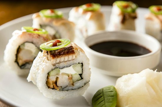 Diamondback's: Made to order sushi menu