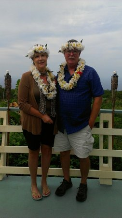 Hale Ho'ola B&B: Shots (lovely) that Mary took of us.