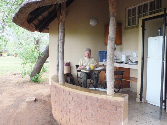 Satara Rest Camp: Het huisje
